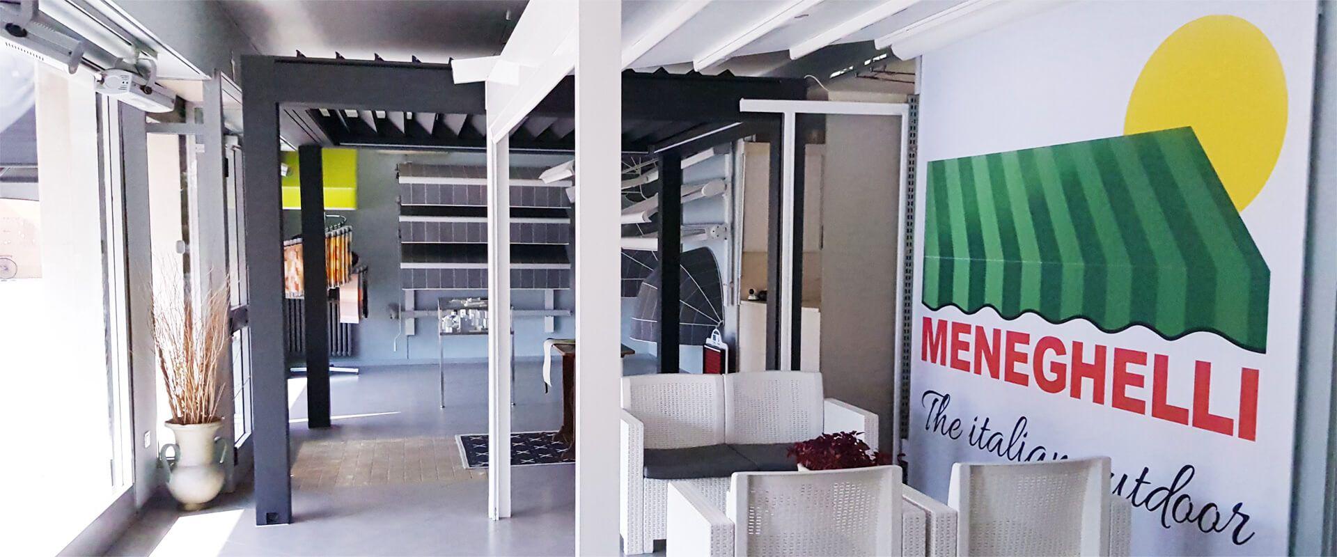 Foto del nostro Showroom Meneghelli Tende a Trevenzuolo